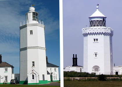 A tale of a man, two lighthouses, and a ship…